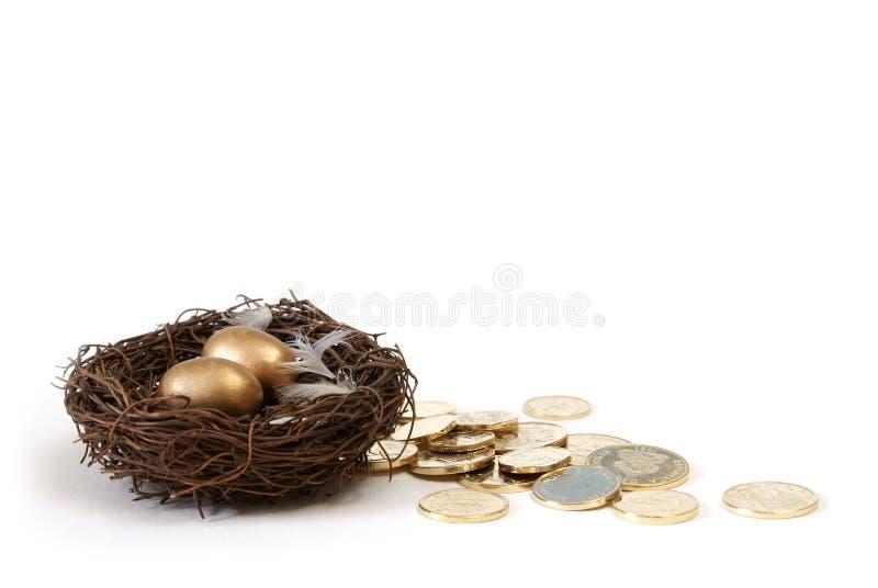 сбережения выхода на пенсию принципиальной схемы стоковые фотографии rf
