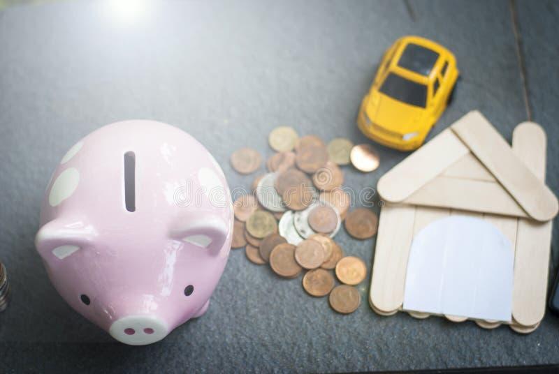 Сбережения для вклада, сохраняя концепции стоковое изображение rf