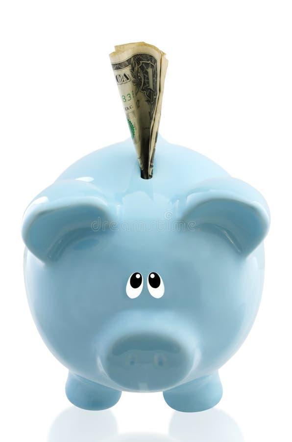 сбережения думают Стоковое Изображение
