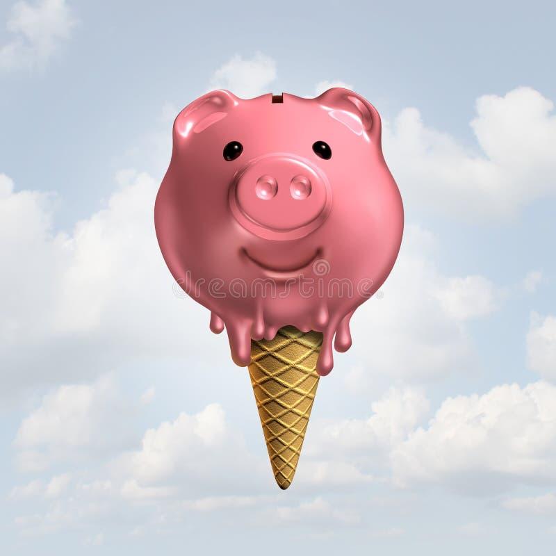 Сбережения лета иллюстрация вектора