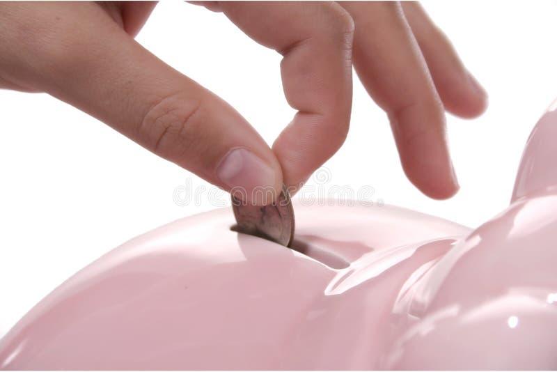сбережения напальчника стоковая фотография