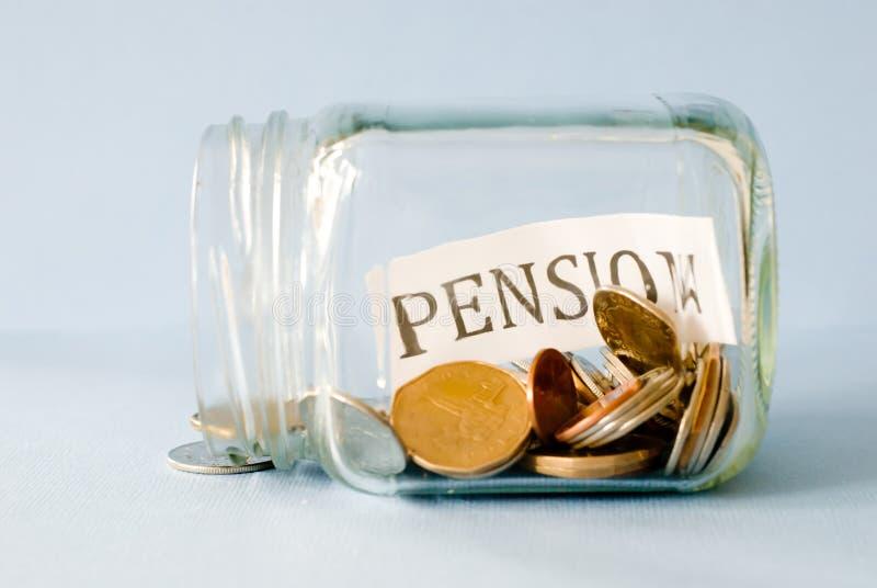 Сбережения пенсии стоковые изображения