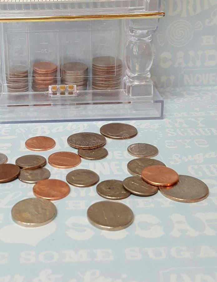 Сбережения для сладостного обслуживания стоковая фотография