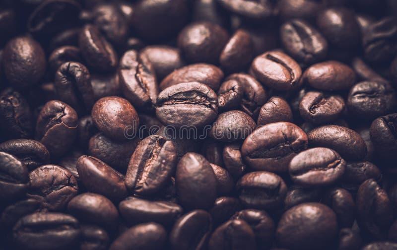 сбор винограда бумаги орнамента предпосылки геометрический старый Зажаренные в духовке органические кофейные зерна стоковая фотография rf