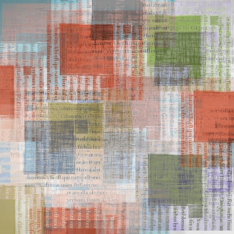 сбор винограда бумаги предпосылки искусства бесплатная иллюстрация