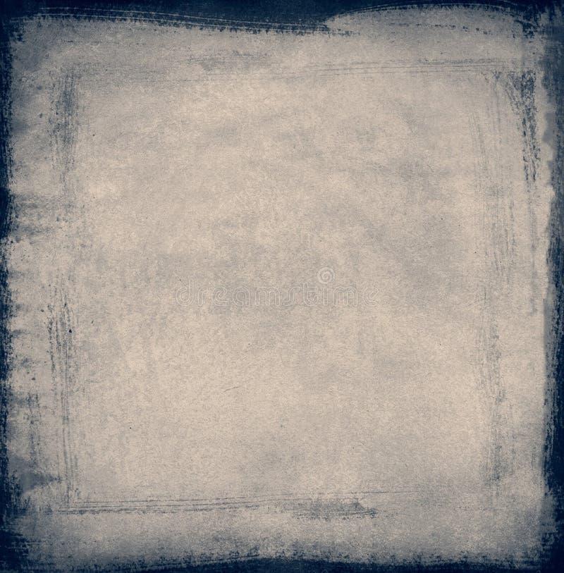 сбор винограда голубой бумаги иллюстрация штока