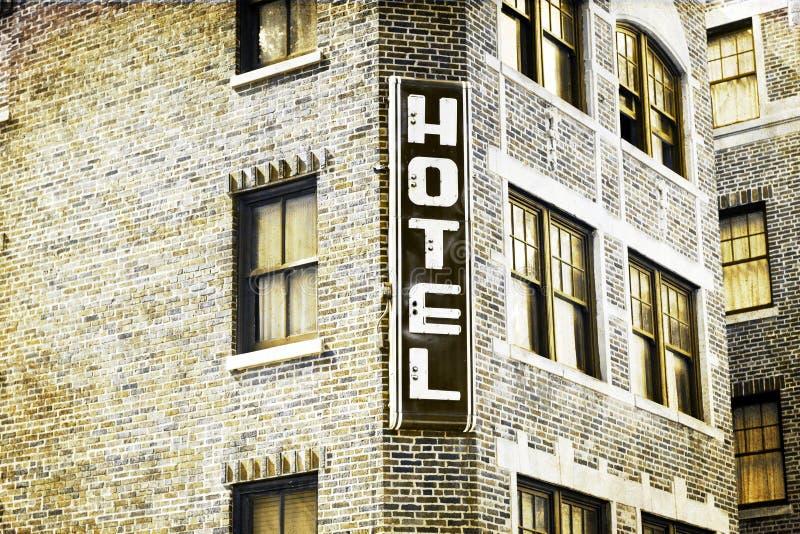 сбор винограда изображения гостиницы конструкции стоковое изображение rf