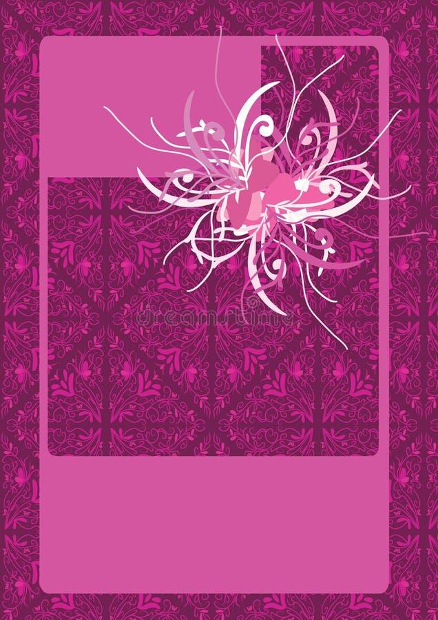 сбор винограда картины цветка eps безшовный иллюстрация штока