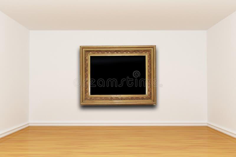 сбор винограда комнаты изображения рамки иллюстрация вектора