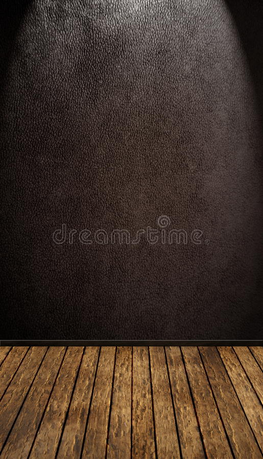 сбор винограда комнаты иллюстрация вектора