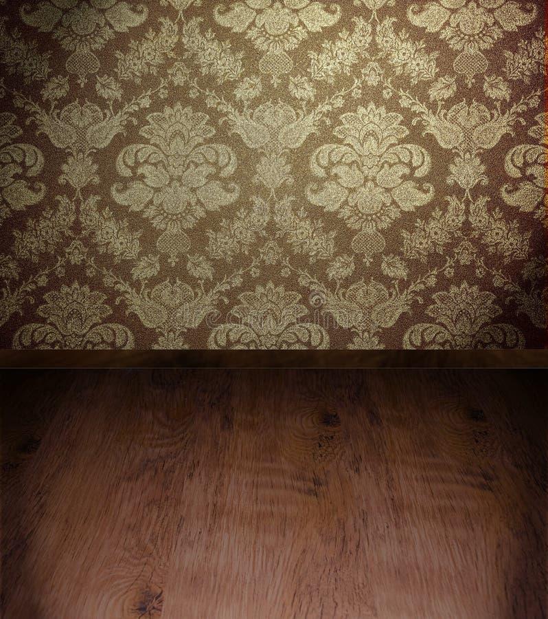 сбор винограда комнаты бесплатная иллюстрация