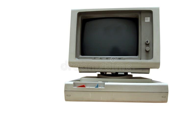 сбор винограда компьютера личный стоковое фото
