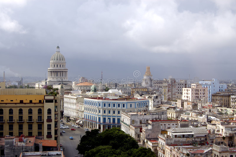 сбор винограда Кубы havana стоковое изображение