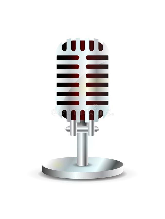 сбор винограда микрофона бесплатная иллюстрация