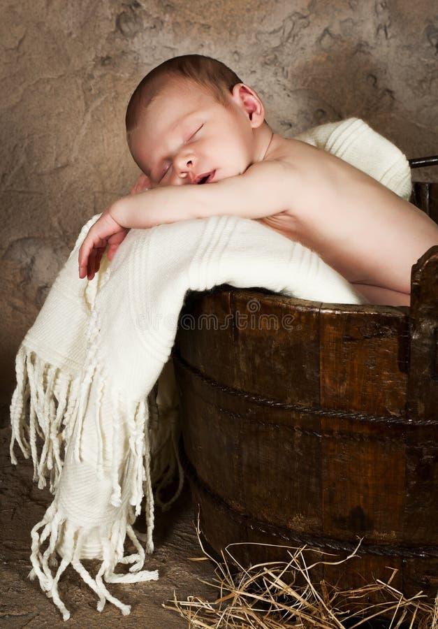 сбор винограда младенца стоковая фотография