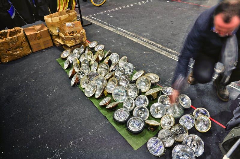сбор винограда надувательства светильника автомобиля стоковые фотографии rf