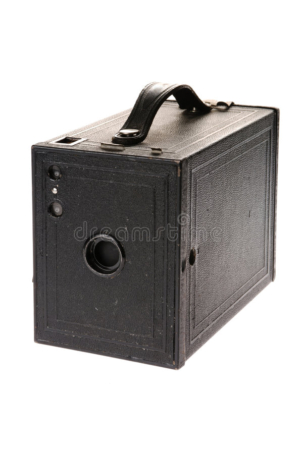 сбор винограда пленки камеры коробки стоковое фото rf