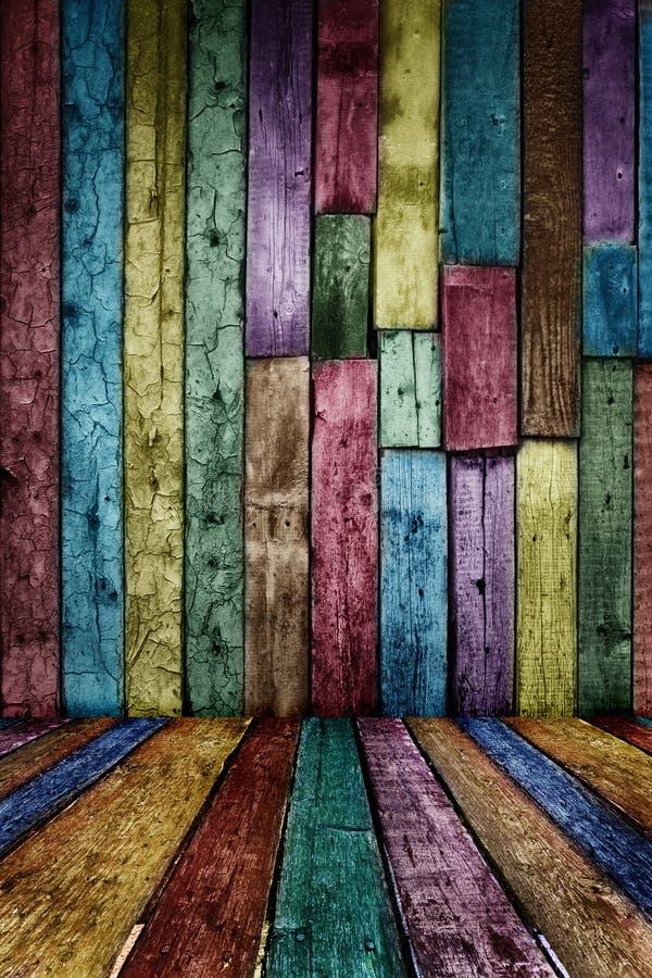 сбор винограда предпосылки деревянный стоковое изображение