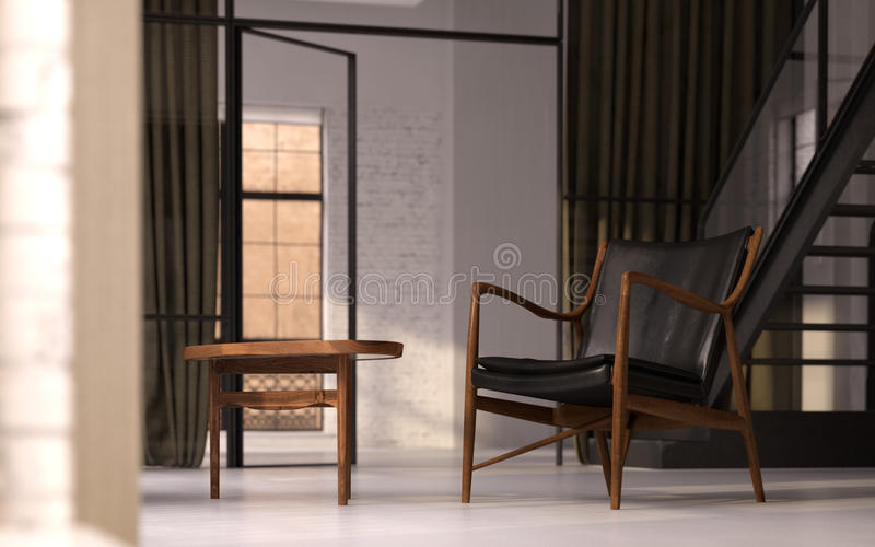 сбор винограда просторной квартиры мебели