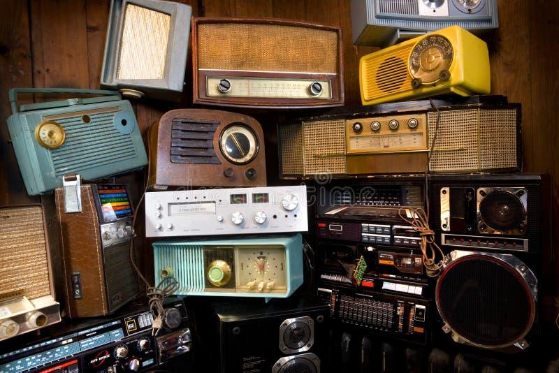 сбор винограда радио s стоковое изображение rf