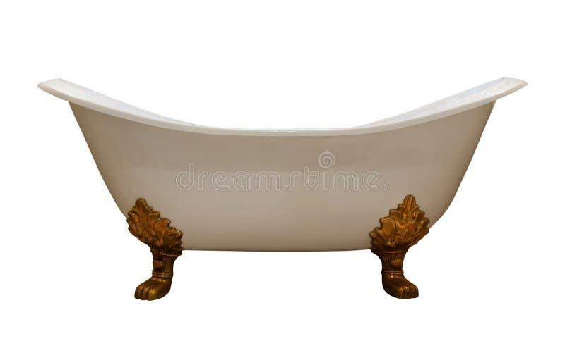 сбор винограда роскоши ванны стоковое изображение rf