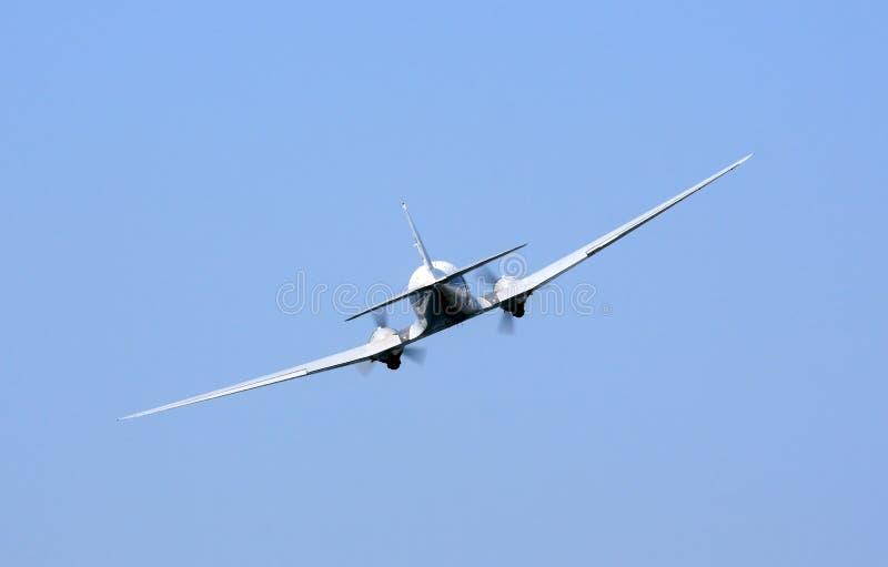 сбор винограда самолета стоковое изображение