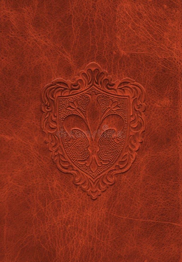 сбор винограда символа de fleur кожаный lis стоковые изображения