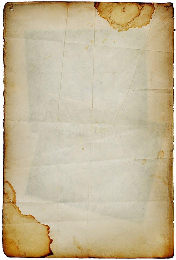 сбор винограда страницы альбома стоковые фотографии rf