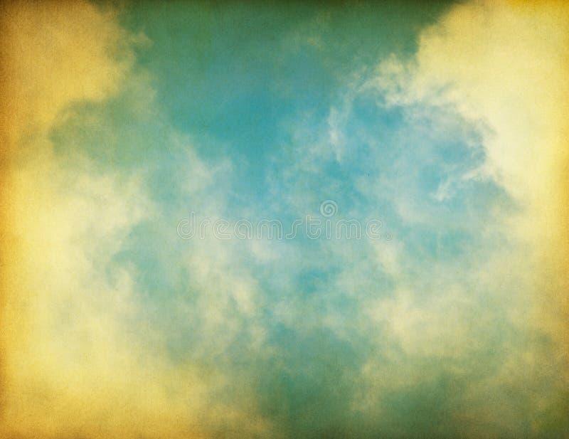 сбор винограда текстурированный туманом стоковая фотография