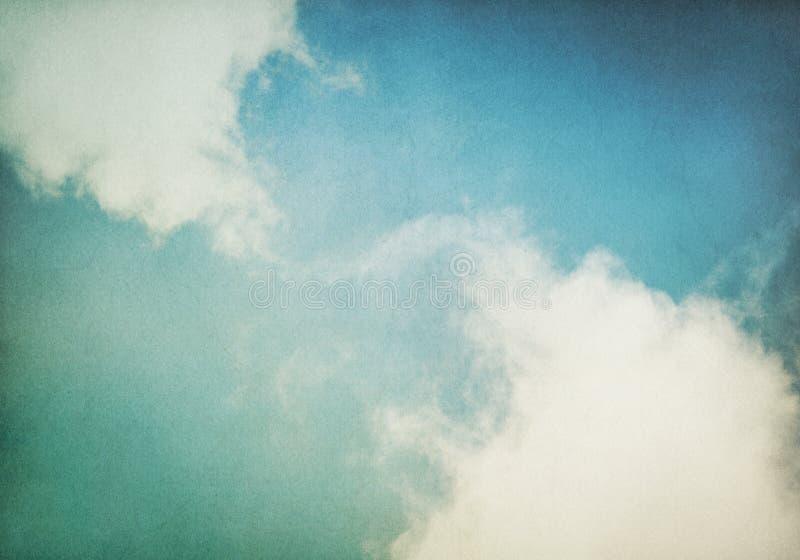 сбор винограда тумана облаков стоковое изображение rf