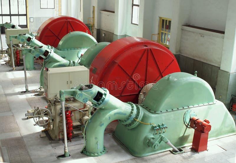 сбор винограда турбин генераторов стоковые фотографии rf