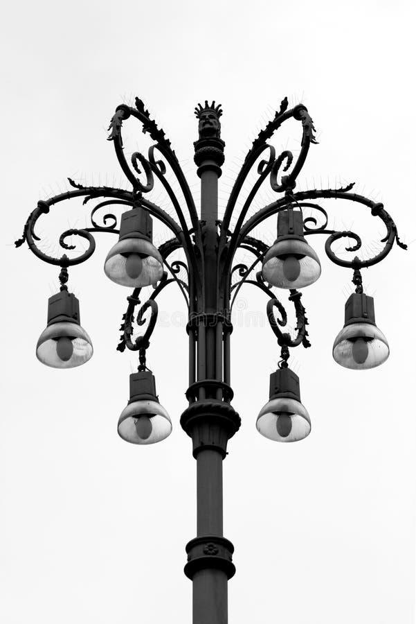 сбор винограда улицы светильника стоковые фотографии rf