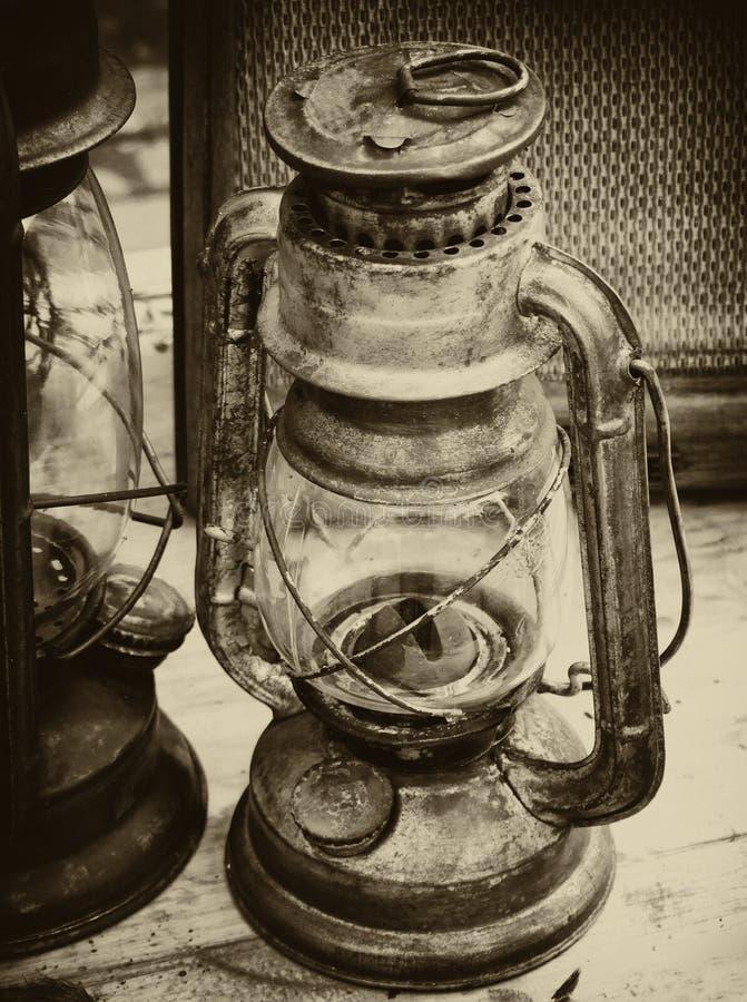 сбор винограда фонарика стоковая фотография rf