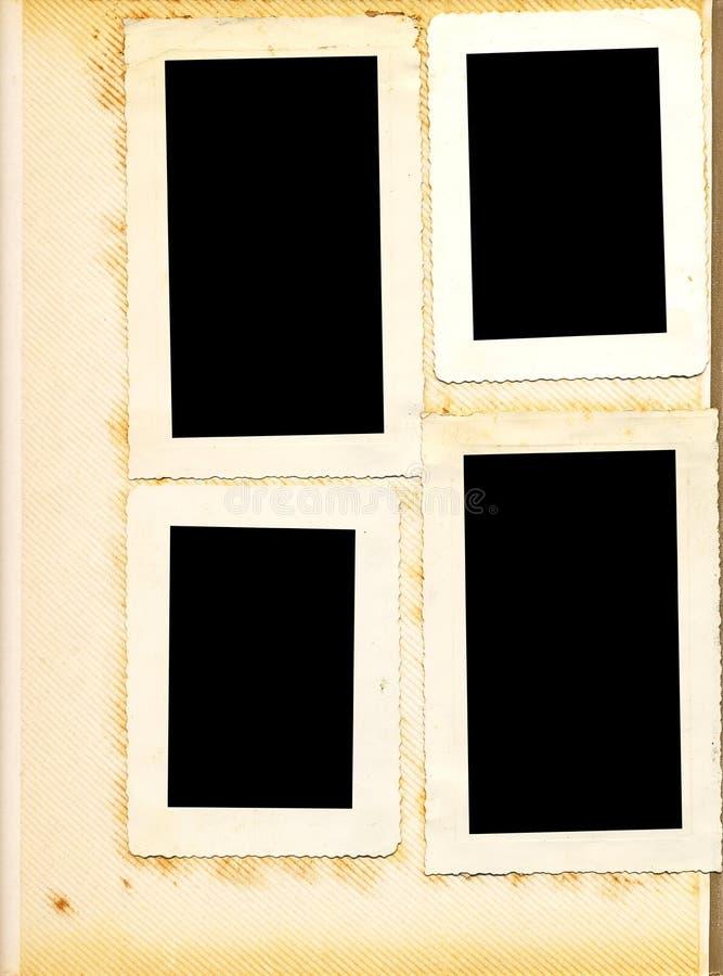 сбор винограда фото альбома стоковое изображение rf
