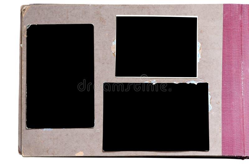 сбор винограда фото альбома стоковые изображения rf