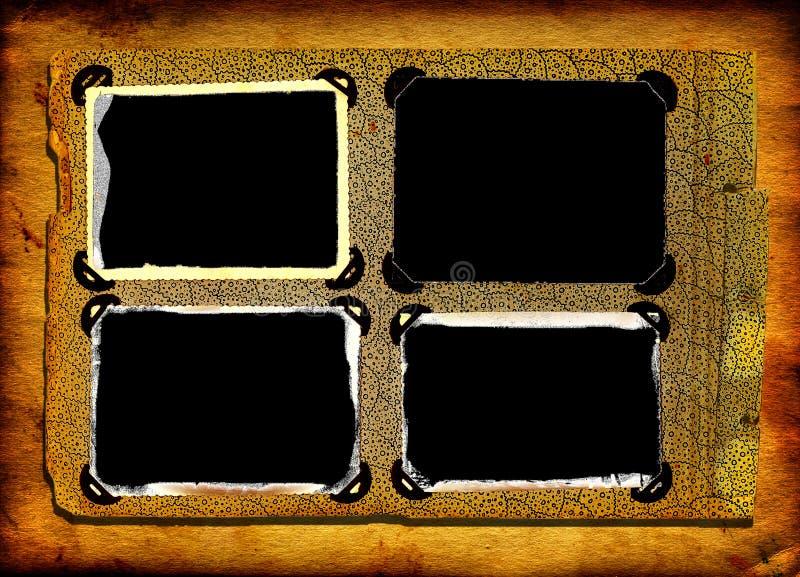 сбор винограда фото рамок стоковое фото