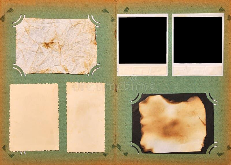 сбор винограда фото страницы альбома стоковая фотография rf