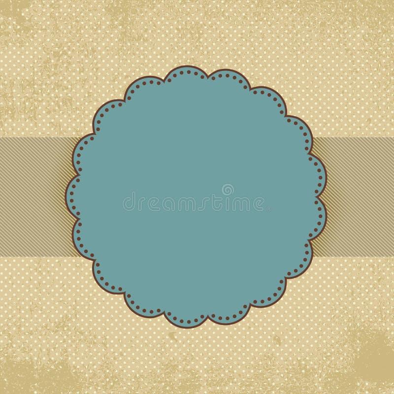 сбор винограда шаблона польки eps многоточия 8 карточек иллюстрация штока