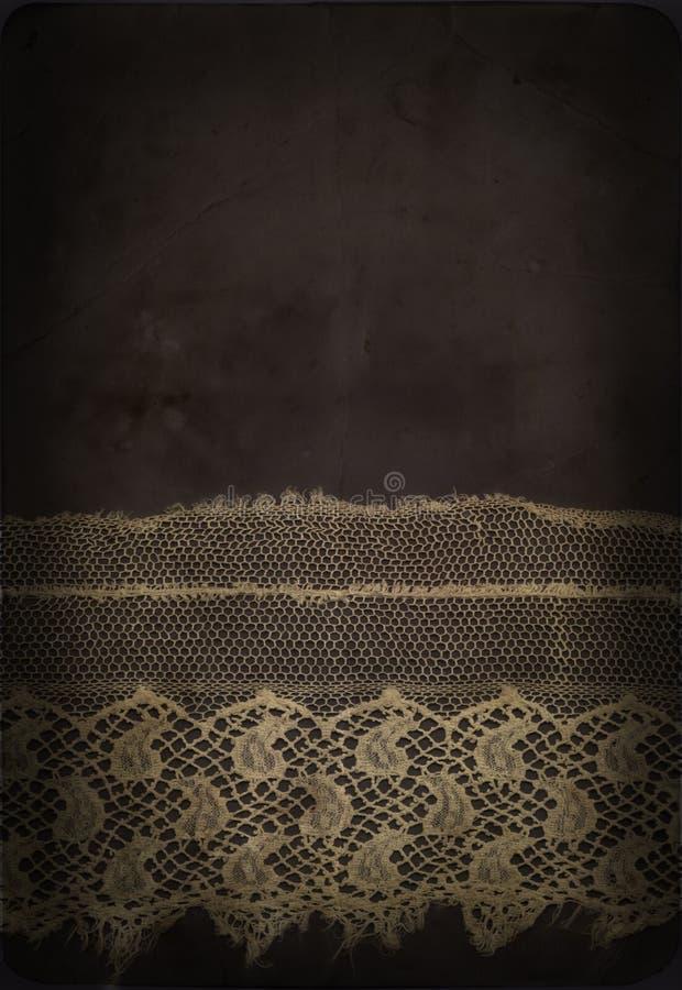 сбор винограда шнурка стоковое изображение rf