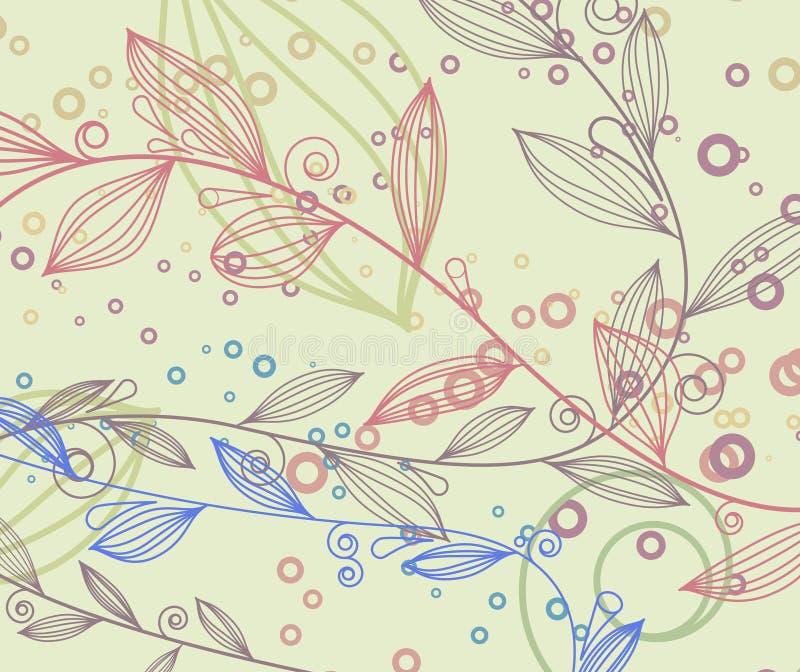 сбор винограда элементов предпосылки флористический бесплатная иллюстрация