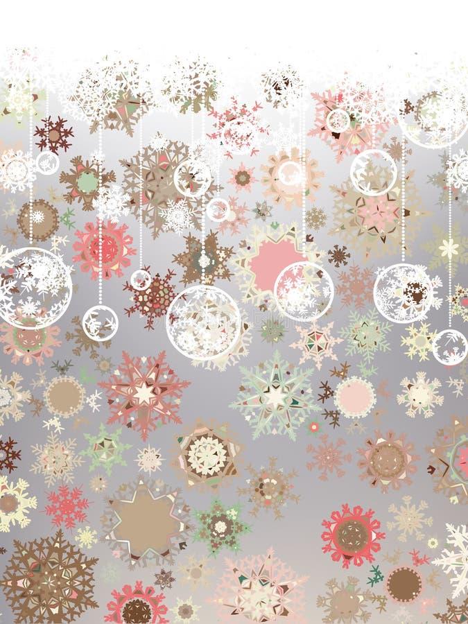 сбор винограда eps рождества 8 карточек иллюстрация штока