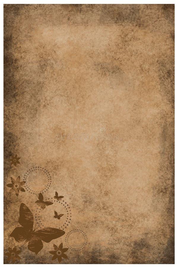 сбор винограда grunge бумажный бесплатная иллюстрация
