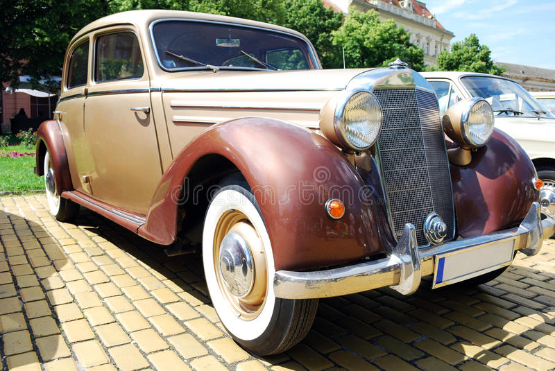 сбор винограда oldtimer автомобиля стоковые фотографии rf