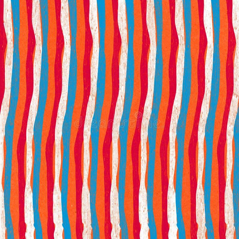 сбор винограда striped предпосылкой иллюстрация штока