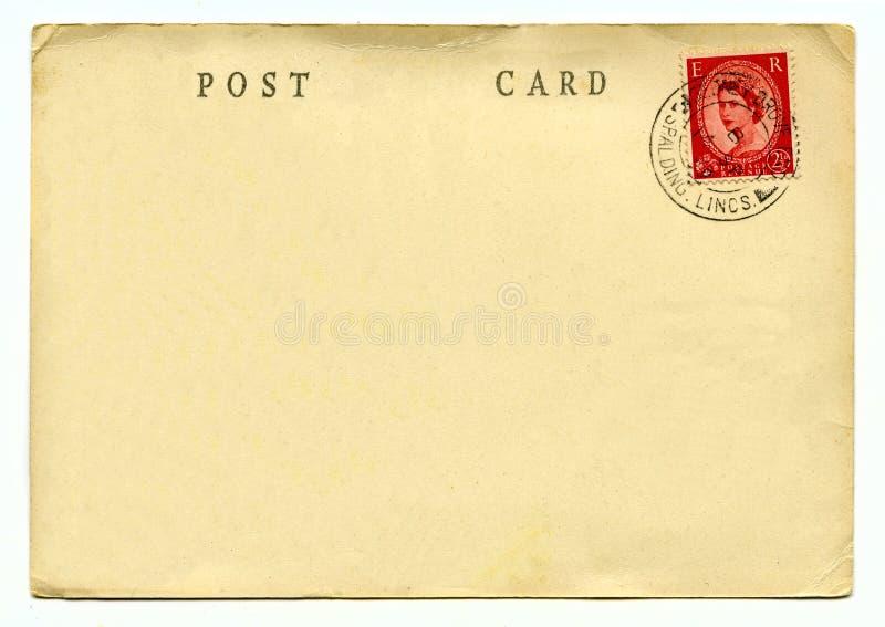 сбор винограда античной collectible открытки предмета почты родственный стоковые фото