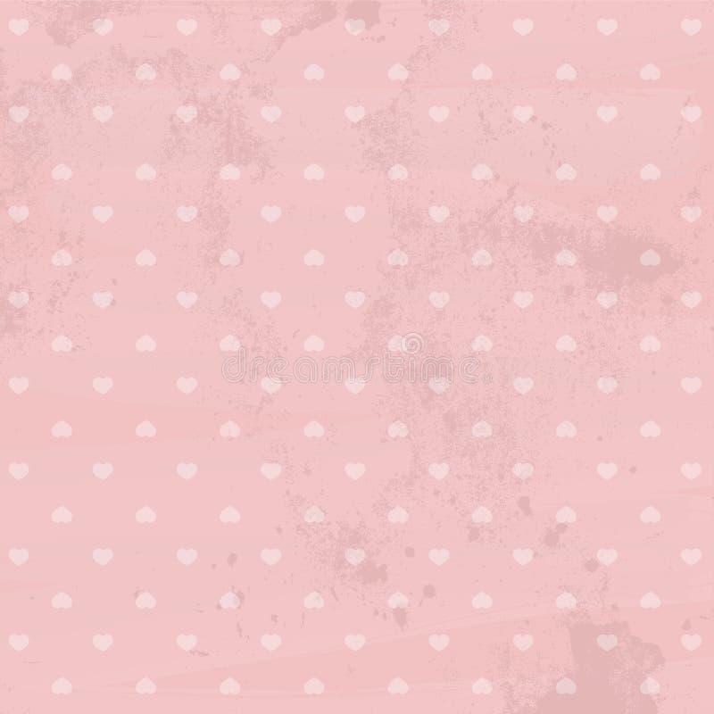 сбор винограда бумаги орнамента предпосылки геометрический старый иллюстрация вектора
