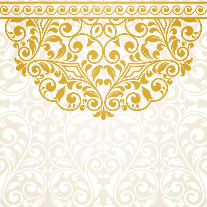 сбор винограда вектора иллюстрации приветствию eps 10 карточек иллюстрация штока