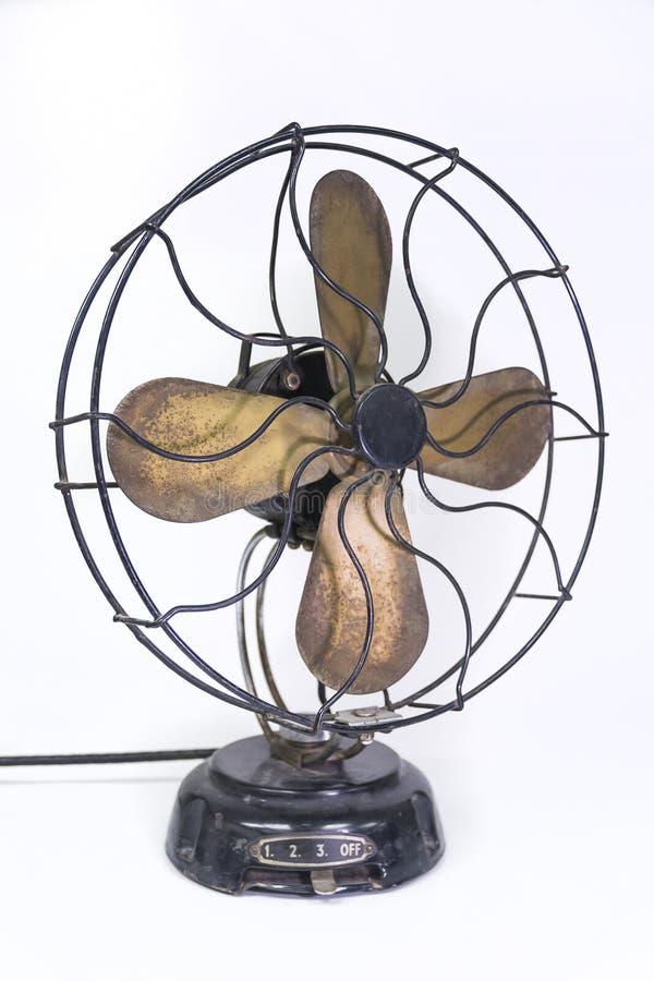 сбор винограда электрического вентилятора стоковые фотографии rf