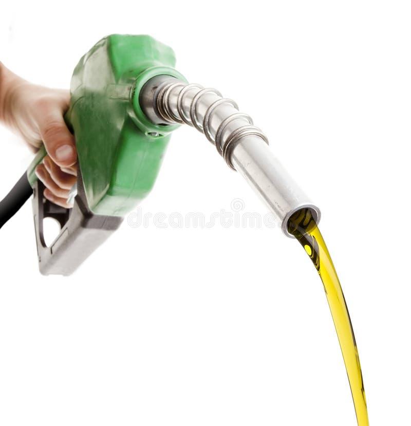 сбрасывать сопло газа стоковая фотография rf