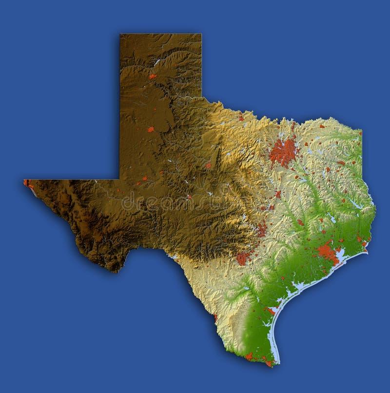 сброс texas карты иллюстрация вектора